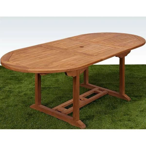 Table Bois Jardin | Mobilier Extérieur