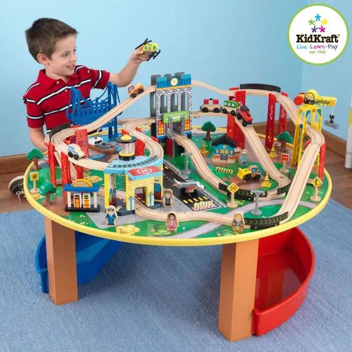 Kidkraft Table Et Circuit City Explorers Achat