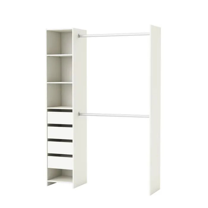 Rangement Placard Conforama - Kit Amenagement Dressing Castorama