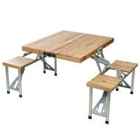 TIPI Table Valise de Pique-Nique en Bois - Prix pas cher ...