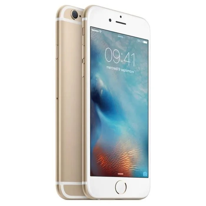 Forfait Telephone Portable Pas Cher Apple Iphone 6 Or 64 Go - Achat Smartphone Pas Cher, Avis