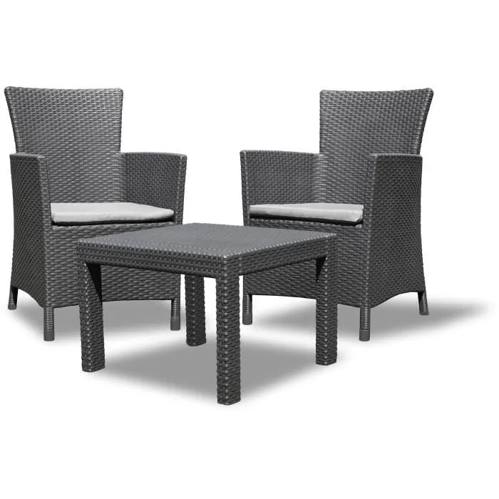 Salon Jardin Resine Allibert