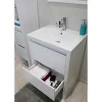 Meuble salle de bain 60 cm - Achat / Vente pas cher