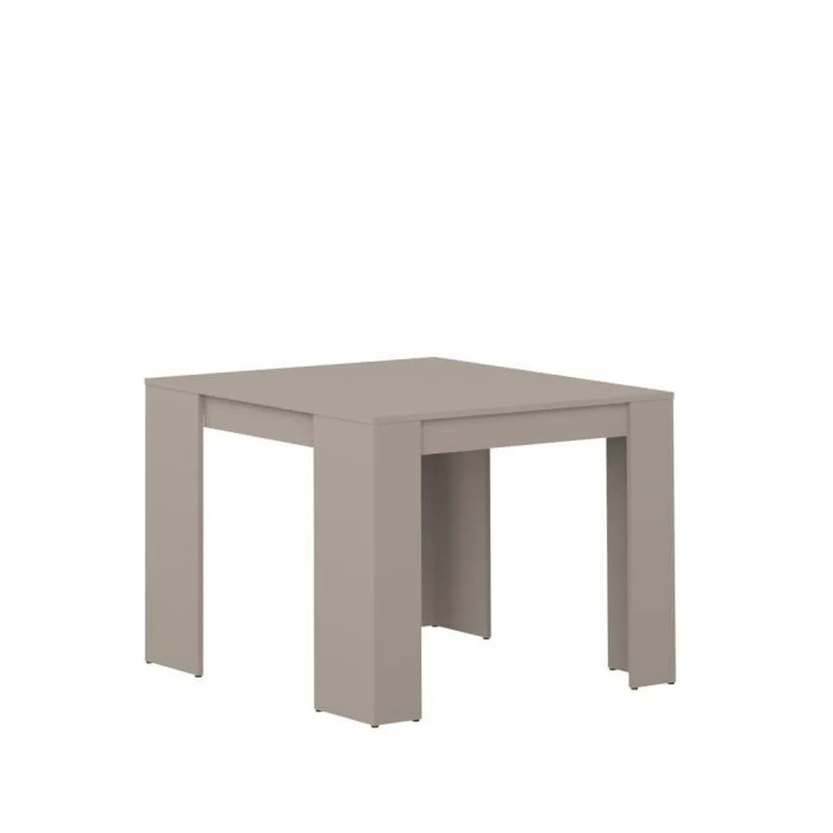 Table Retractable Console Mexx Table Console Extensible 198cm Coloris Taupe Achat