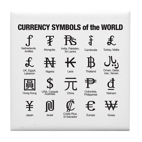 World Currency Symbols Pinterest Symbols - bill of sale form