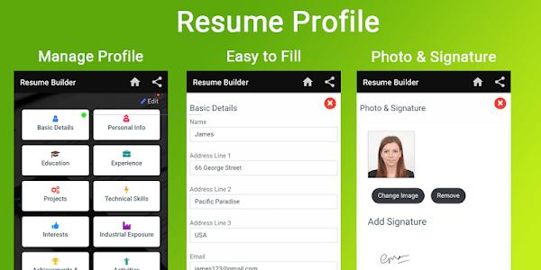 easy resume maker apk