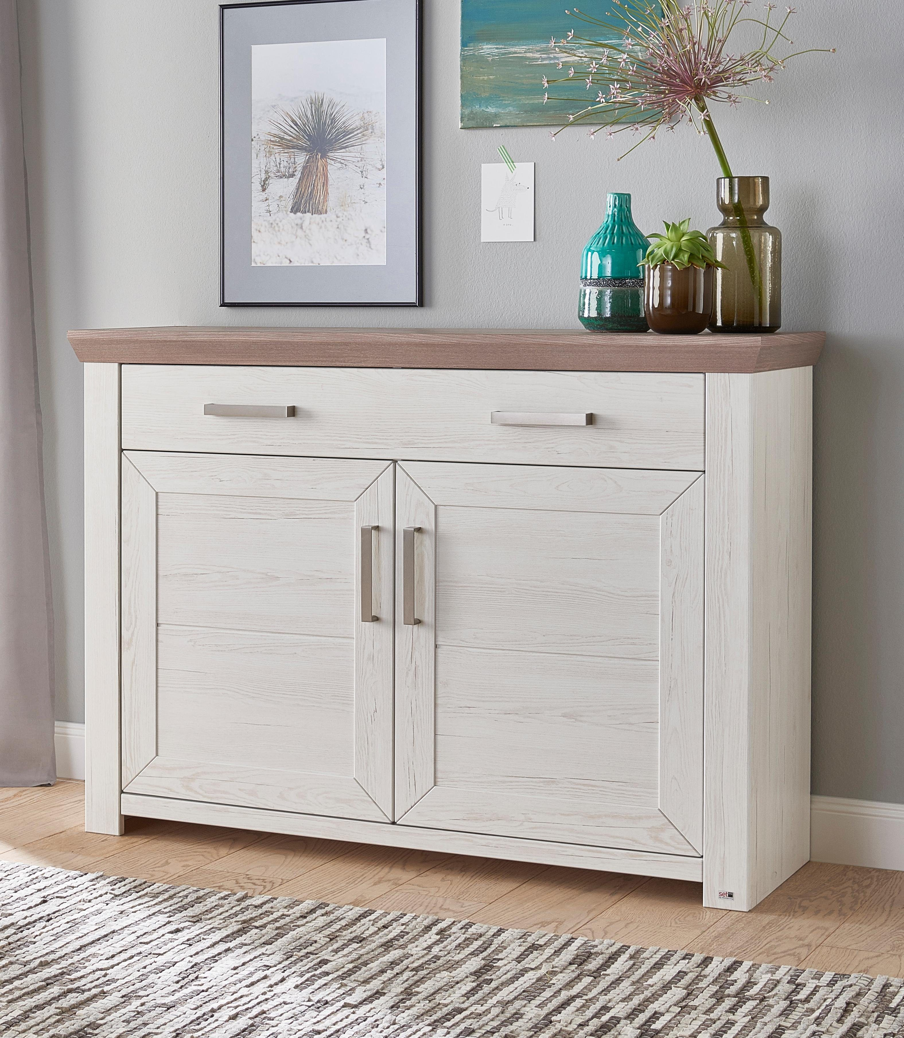 Set One By Musterring Sideboard  York Typ 53 Breite 129 Cm Online Kaufen Set One By Musterring Tv Boards Komnit Store