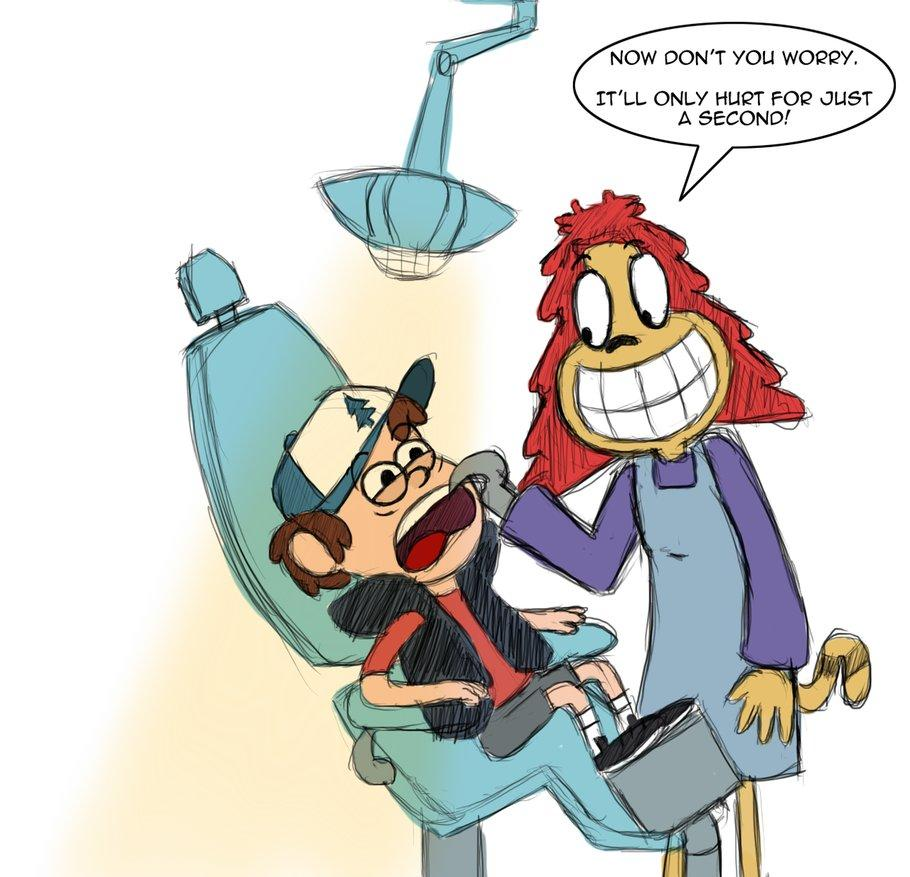 Bipper Gravity Falls Wallpaper Dipper And The Dentist Gravity Falls Know Your Meme