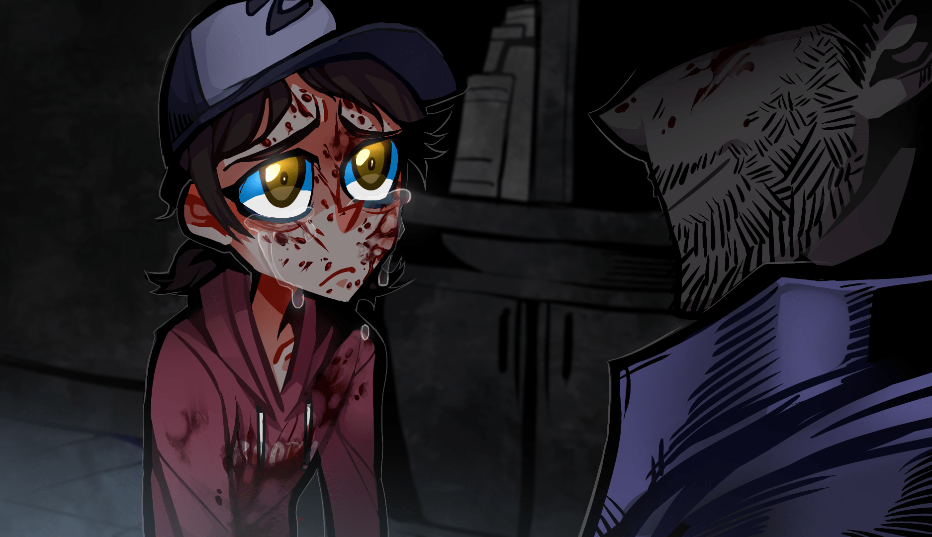 Gravity Falls All Characters Wallpaper Don T Cry Little Clementine The Walking Dead Know Your