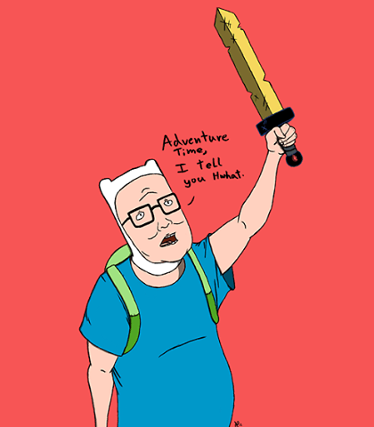 King Of The Hill Iphone Wallpaper Image 555449 King Of The Hill Know Your Meme