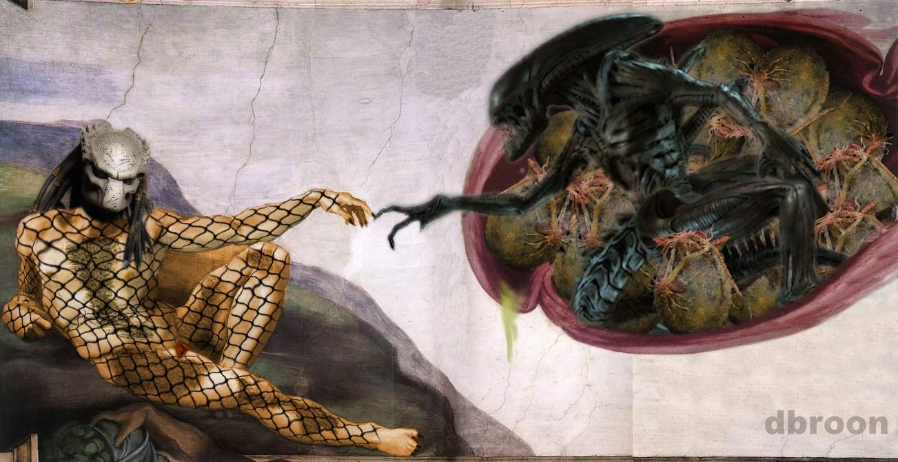 Cute Alien Iphone Wallpaper Image 869874 The Creation Of Adam Parodies Know