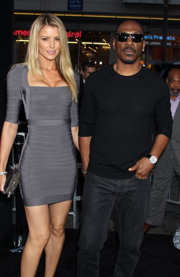 Eddie Murphy (R) and Paige Butcher