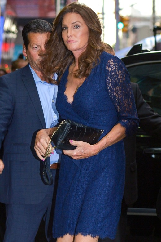 Caitlyn Jenner attends the Broadway show 'An American In Paris'