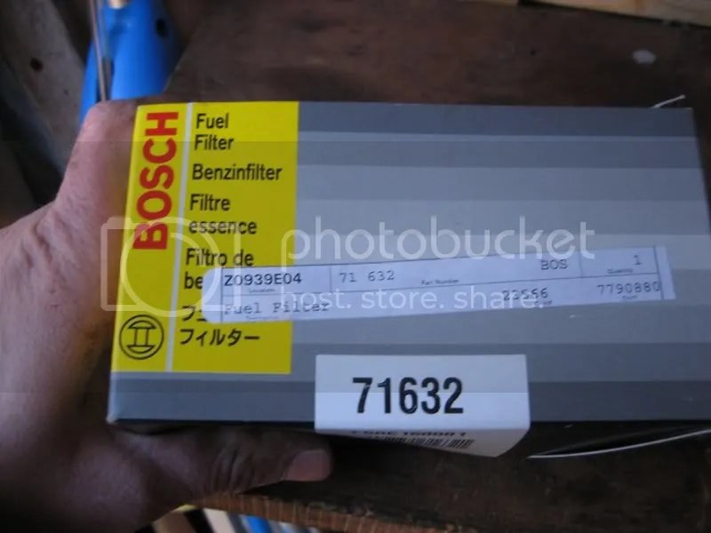 NEW Bosch 71632 Fuel Filter - $20 shipped - Honda Civic Forum