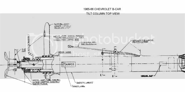1965 chevelle wiring diagram steering column