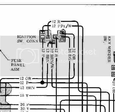 gm in dash ignition switch wiring diagram