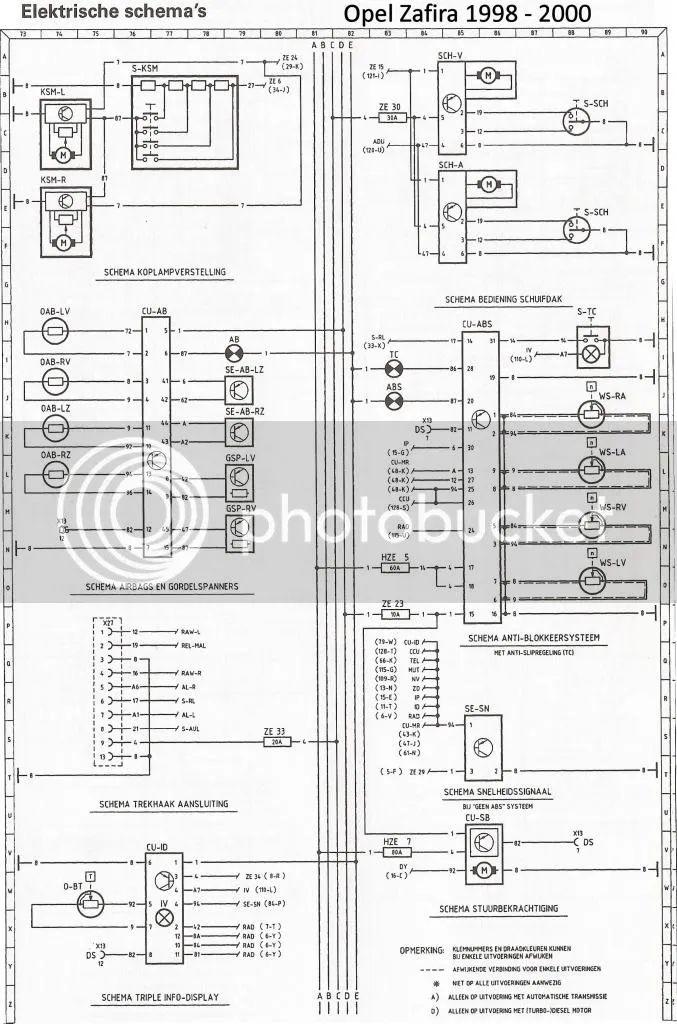 vectra c audio bedradings schema