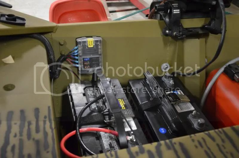 jon boat fuse box setup