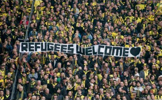 Alemania recibe refugiados