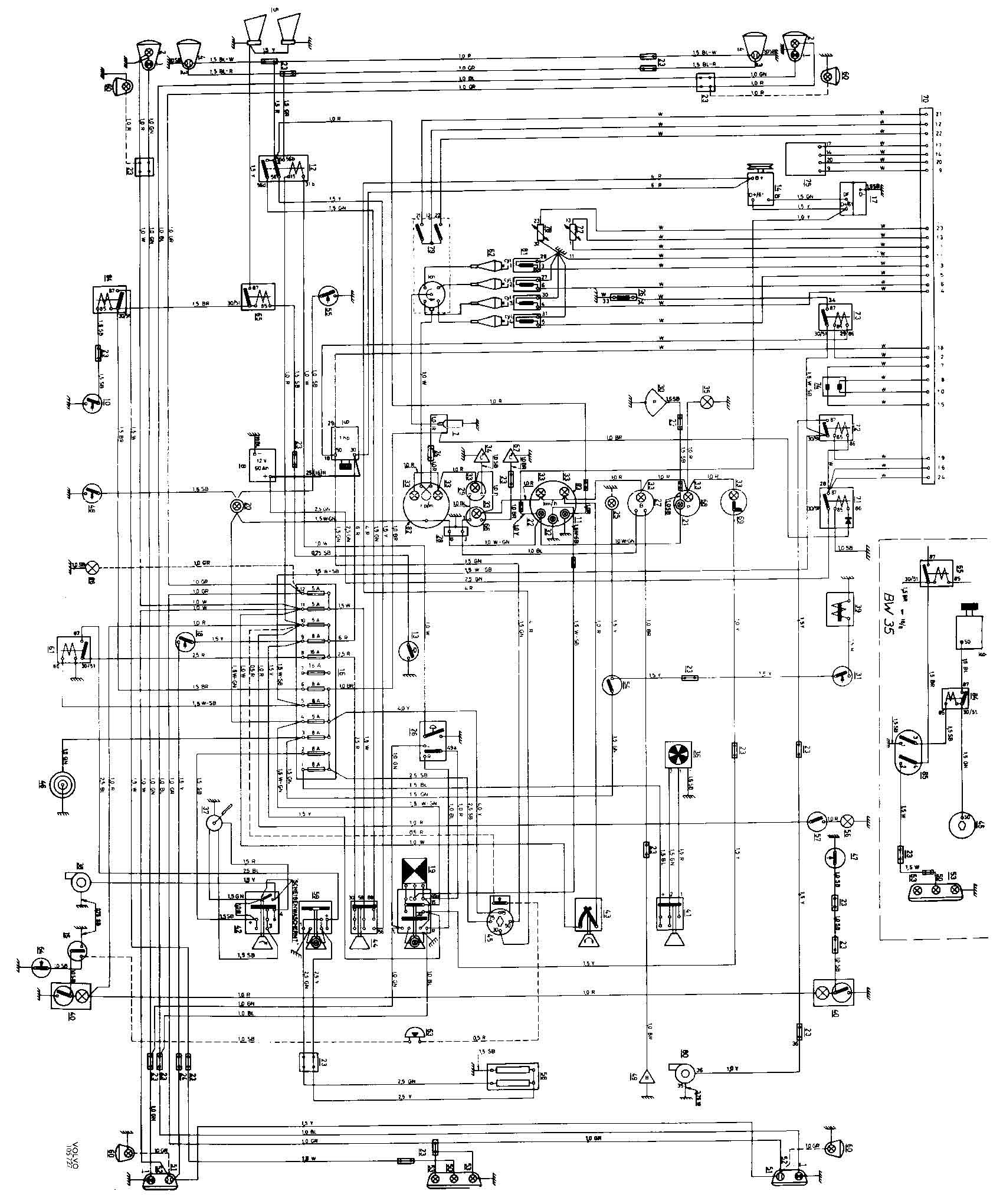 volvo 122 wiring diagram