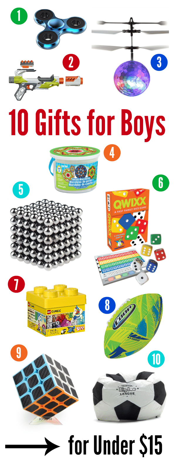 10 Best Gifts For A 10 Year Old Boy For Under 15 Fun