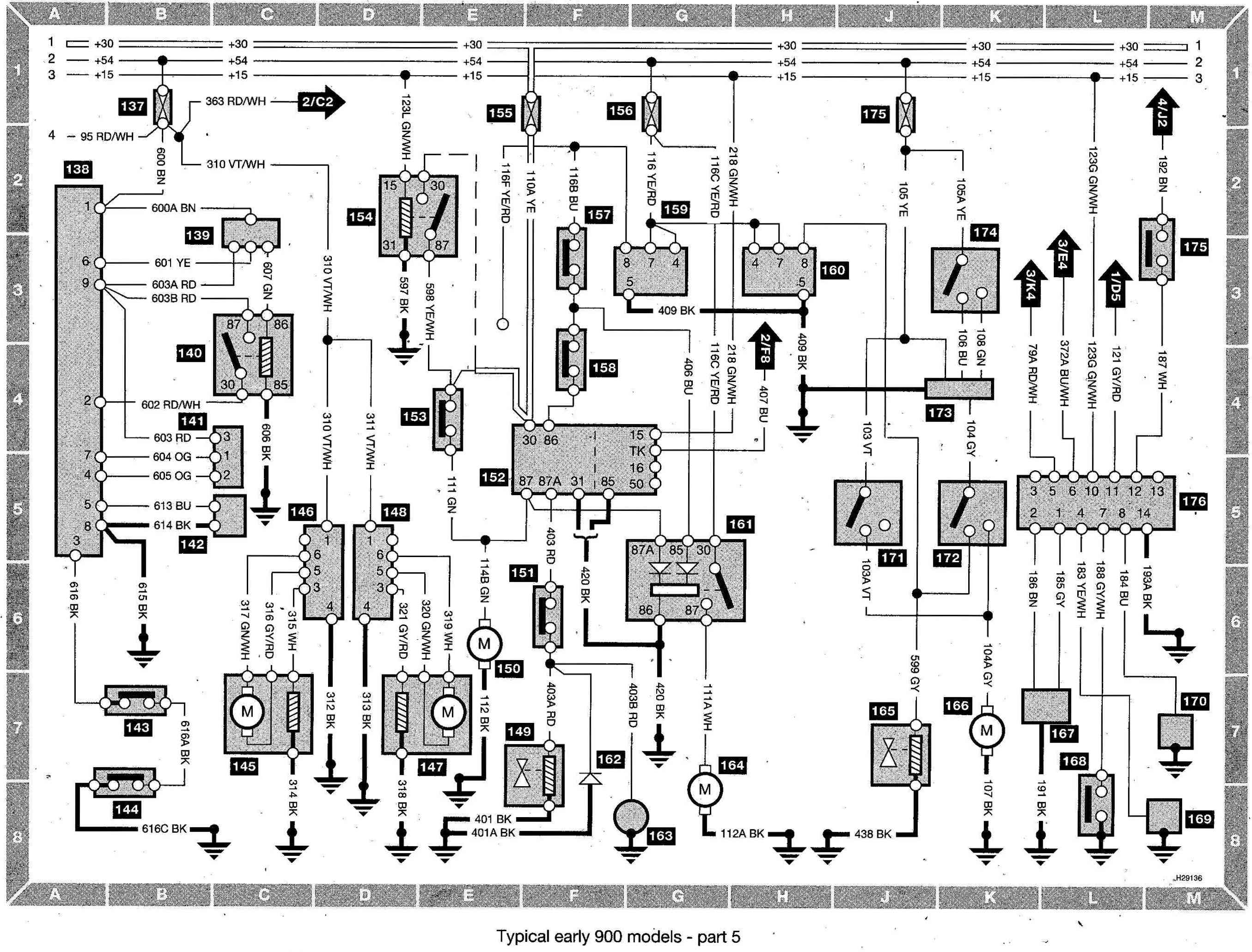 1997 saab 900 se turbo engine diagram