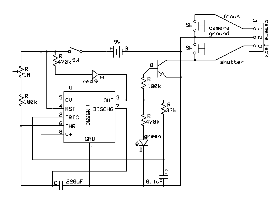 electrical wiring diagrams led circuit