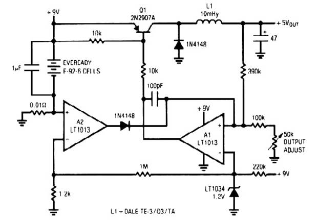 switching voltage regulator circuit