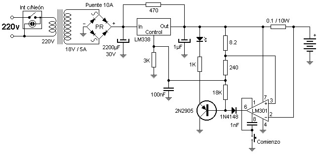 variable charger circuit