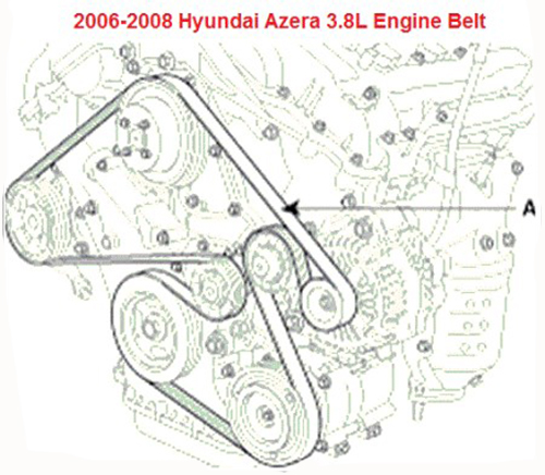hyundai azera engine diagram