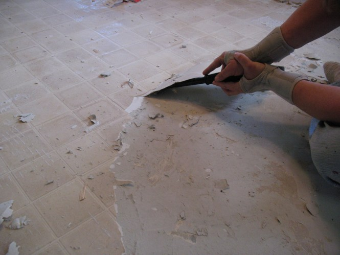 How To Remove Glue From Under Tile Floor - Bathroom Furniture Ideas