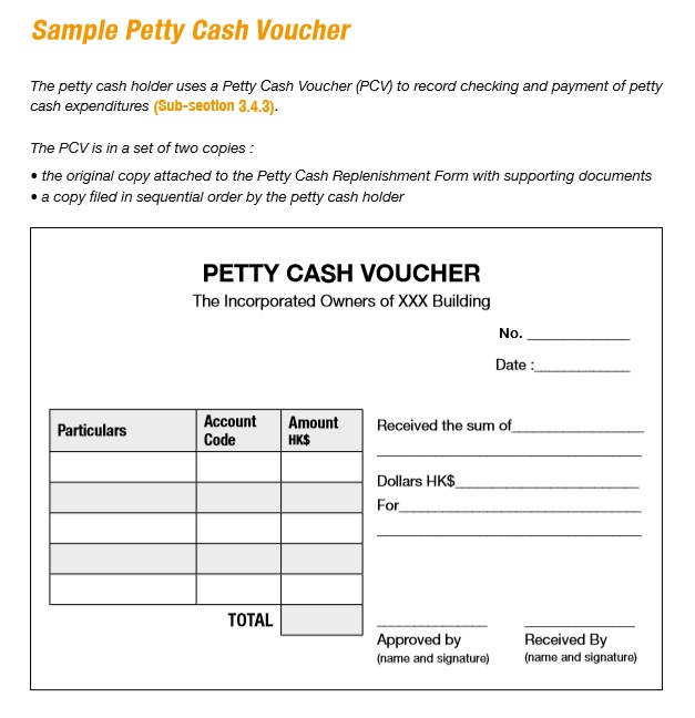 8 Free Sample Petty Cash Voucher Templates - Printable Samples - prize voucher template