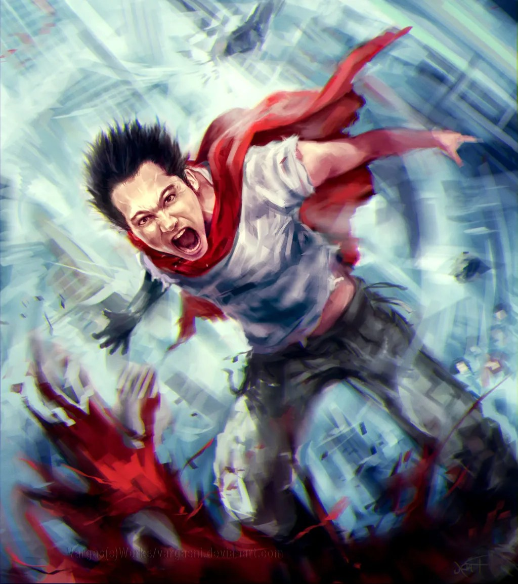 Dirty Harry Quotes Wallpaper Tetsuo And Sailor Mars By Randy Vargas G 243 Mez Anime Fan Art