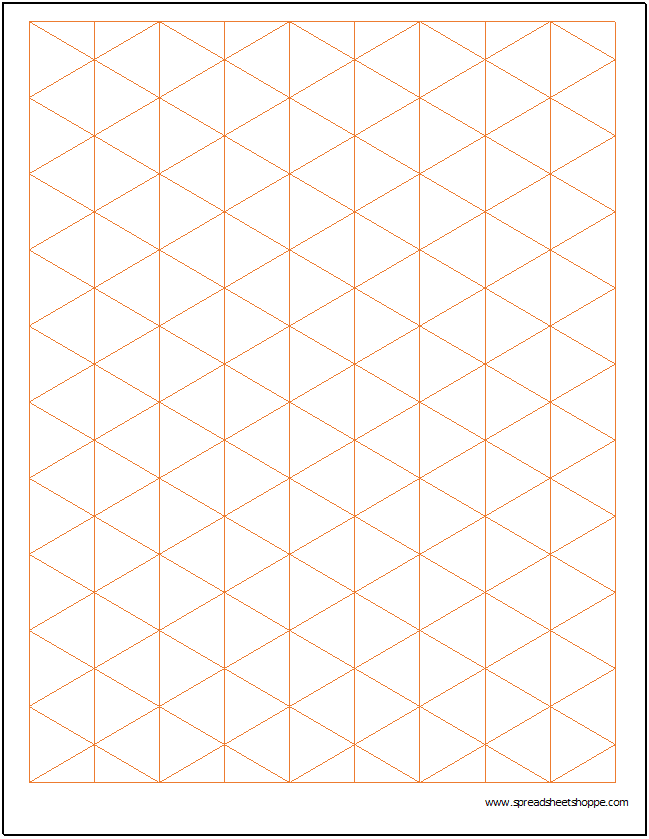 microsoft excel graph paper template
