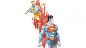 booster gold and superman