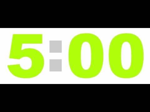 5 Minute Timer timer sign icon 5 minutes stopwatch symbol vector