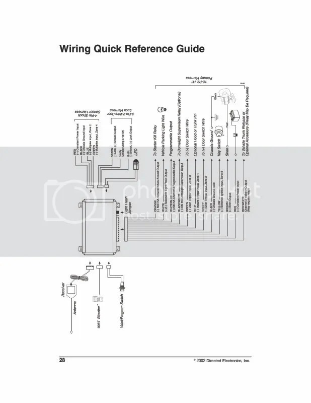 Door Alarm Wiring Diagram Wiring Diagram