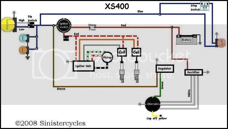1981 Yamaha Xs400 Wiring Diagram Index listing of wiring diagrams