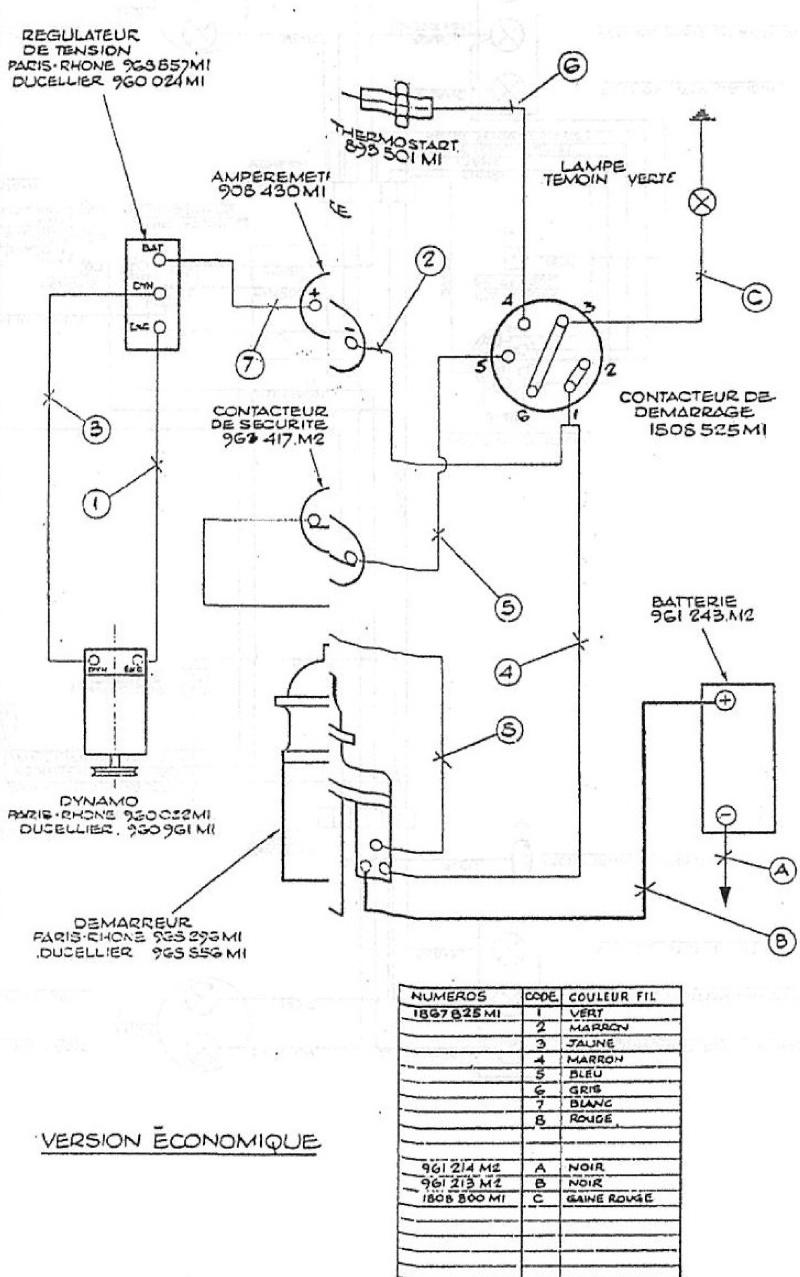 mf 285 schema cablage