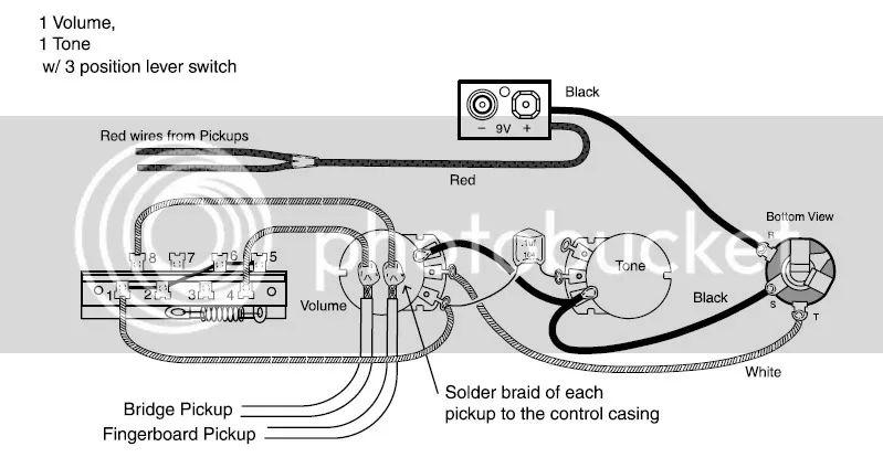 emg 81 del Schaltplan for volume one
