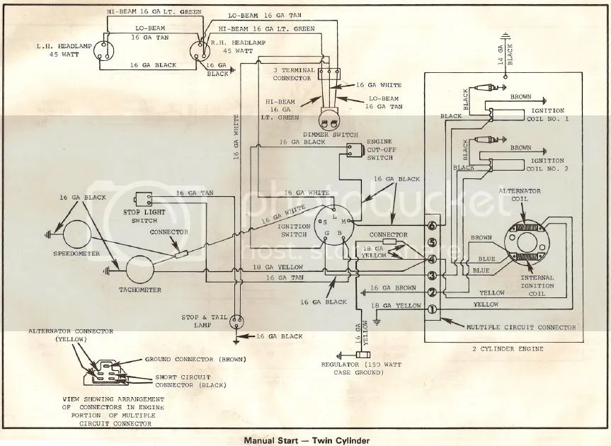 Vintage Snowmobile Wiring Diagrams Wiring Diagram
