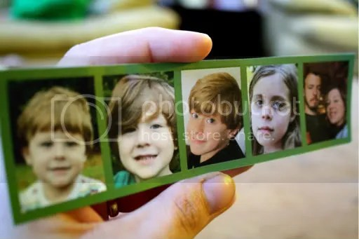 photo collage bookmark