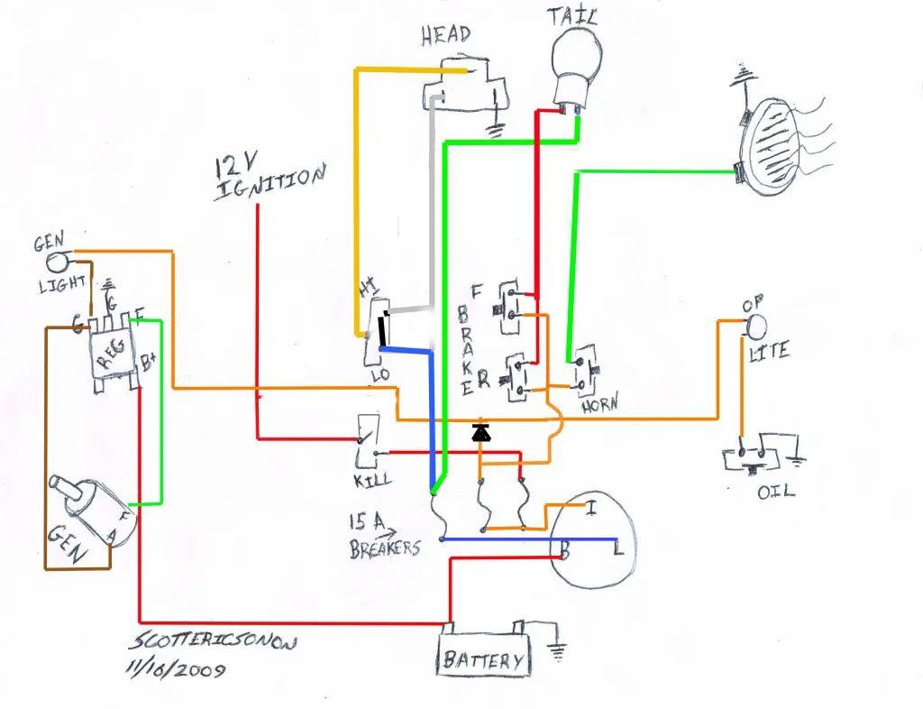 1978 sportster wiring diagram