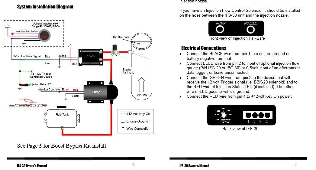 snow performance wiring diagram