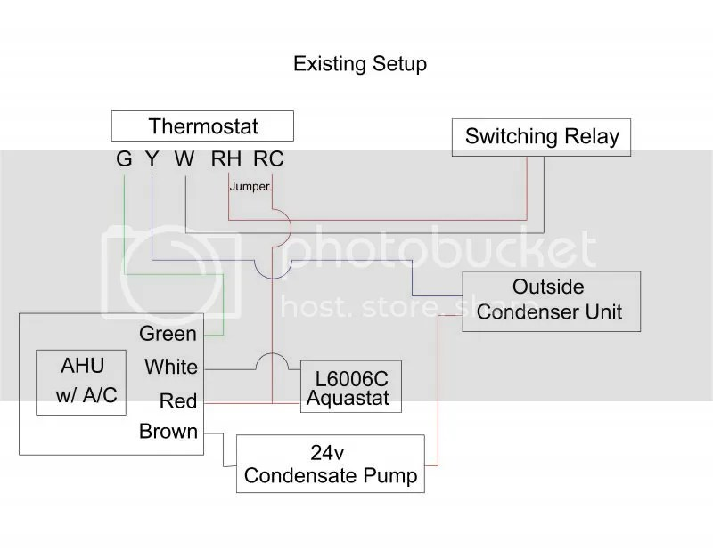 Low voltage, thermostat  Fan Control device for HVAC wiring help