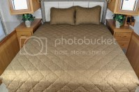 RV Bedspread 3 pc sets with comforter & shams 4 colors, 3 ...