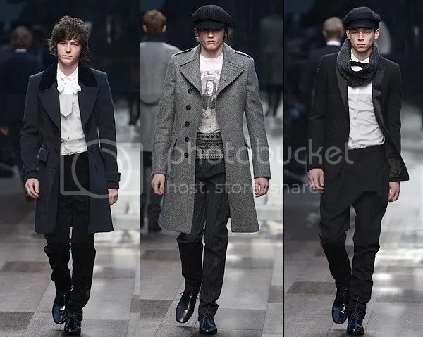Burberry Autumn Fall Winter 2009 2010 Men's