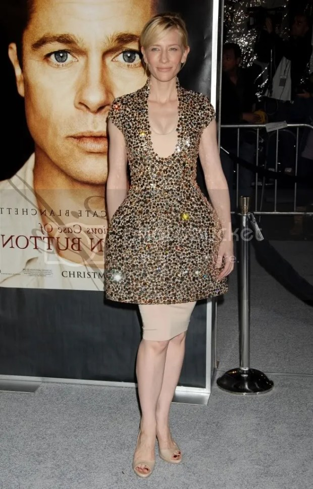 Cate Blanchett  in Alexander McQueen S/S09