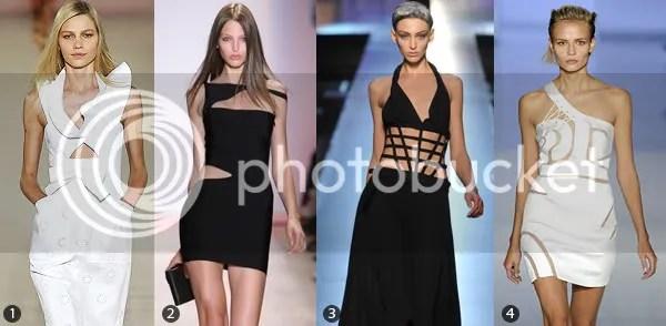 Cutaway Fashion Trend 2009