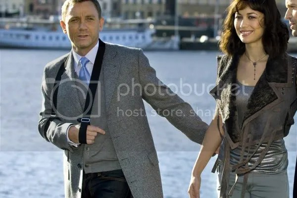 Daniel Craig Tom Ford jacket coat overcoat